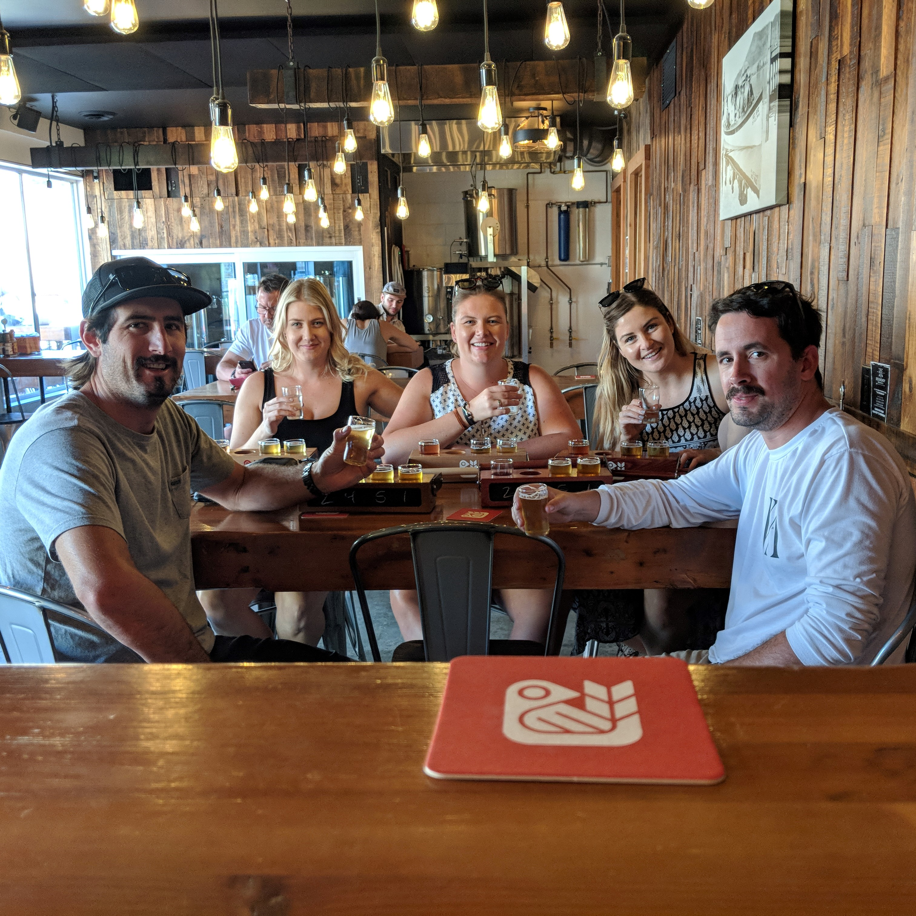 Guided Kelowna Brewery Tour Red Bird Brewing