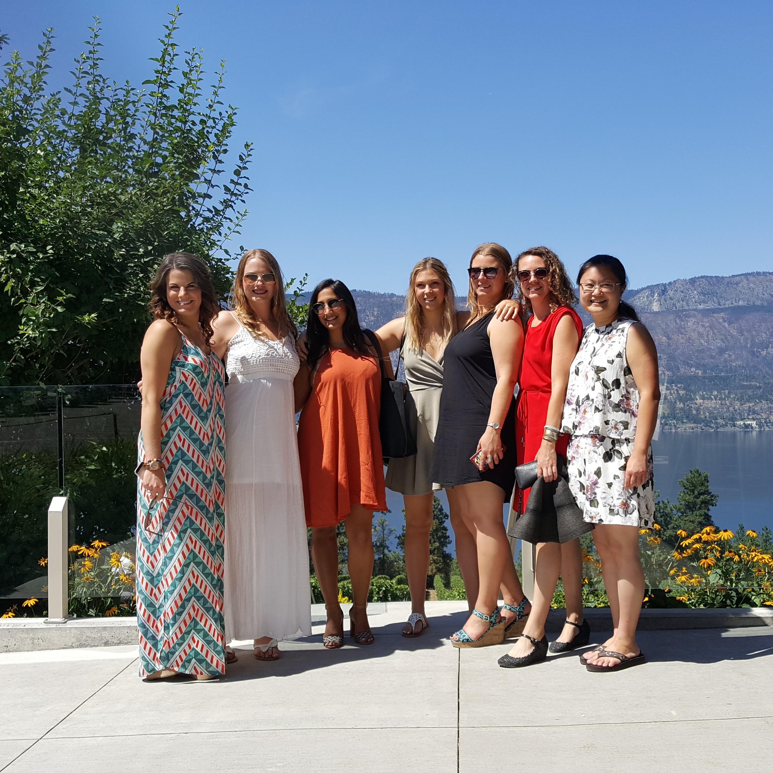 Bachelorette Wine tour Ex Nihilo Winery Lake Country Scenic Sip