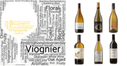 International viognier day word art and featured wines